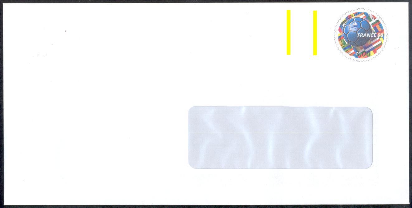 1 6 2 les entiers postaux for Enveloppe avec fenetre
